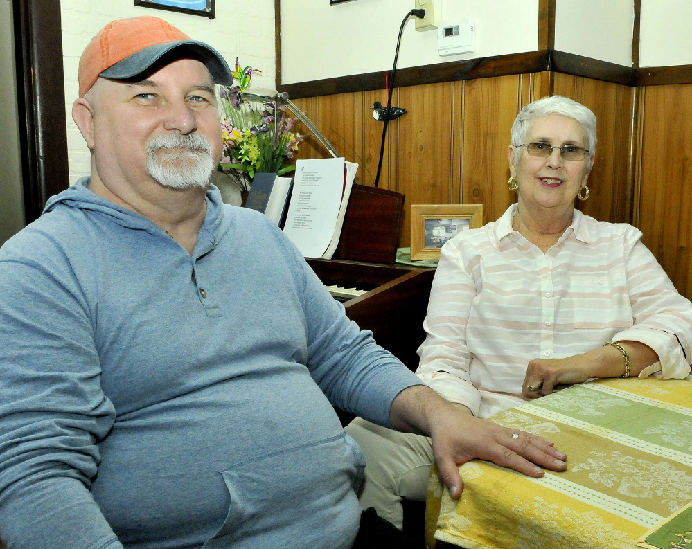 Dennis Mills and Nancy Russell, who both have HIV, will walk in the HIV/AIDS Walk Saturday at the Quarry Road Recreation Area in Waterville to benefit MaineGeneral's Horizon Program, which serves people with HIV/AIDS.