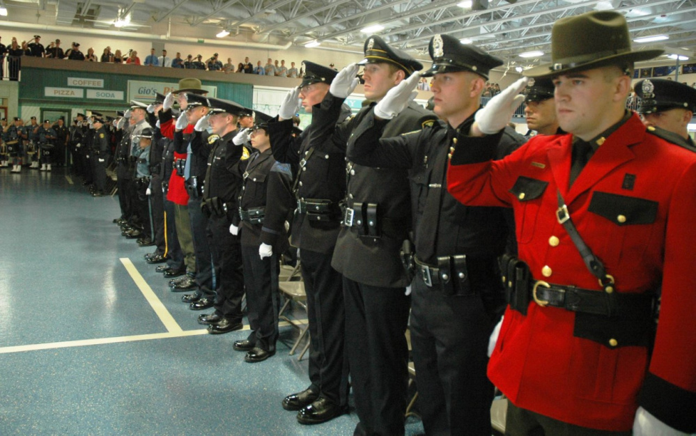 Sixty-three police officers graduated Friday from the Maine Criminal Justice Academy in Vassalboro.