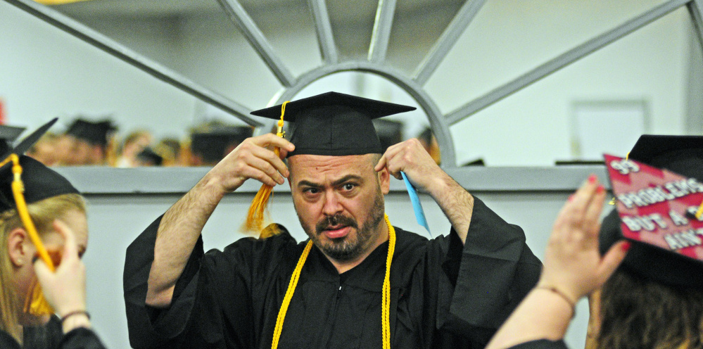 Kennebec Valley Community College graduates celebrate in ...