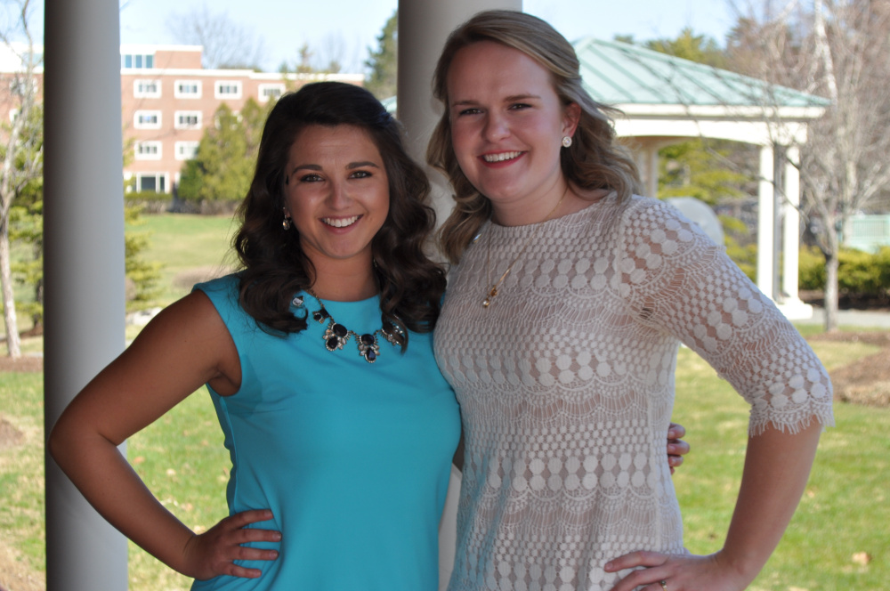 Sage Duguay, left, and Allison Scully.