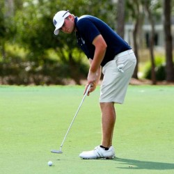 Contributed photo/Old Dominion University athletics Seth Sweet, of Madison, recently wrapped up his collegiate golfing career at Old Dominion University. He is now preparing to take the first steps in a professional career.