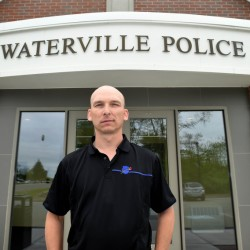 Waterville Detective Sgt. Bill Bonney, seen outside the Waterville Police Department Friday, has been named deputy chief. He replaces Charles Rumsey, who is leaving to become chief in Cumberland.