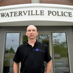Waterville Detective Sgt. Bill Bonney, seen outside the Waterville Police Department on Friday, has been named deputy chief. He replaces Charles Rumsey, who is leaving to become chief in Cumberland.