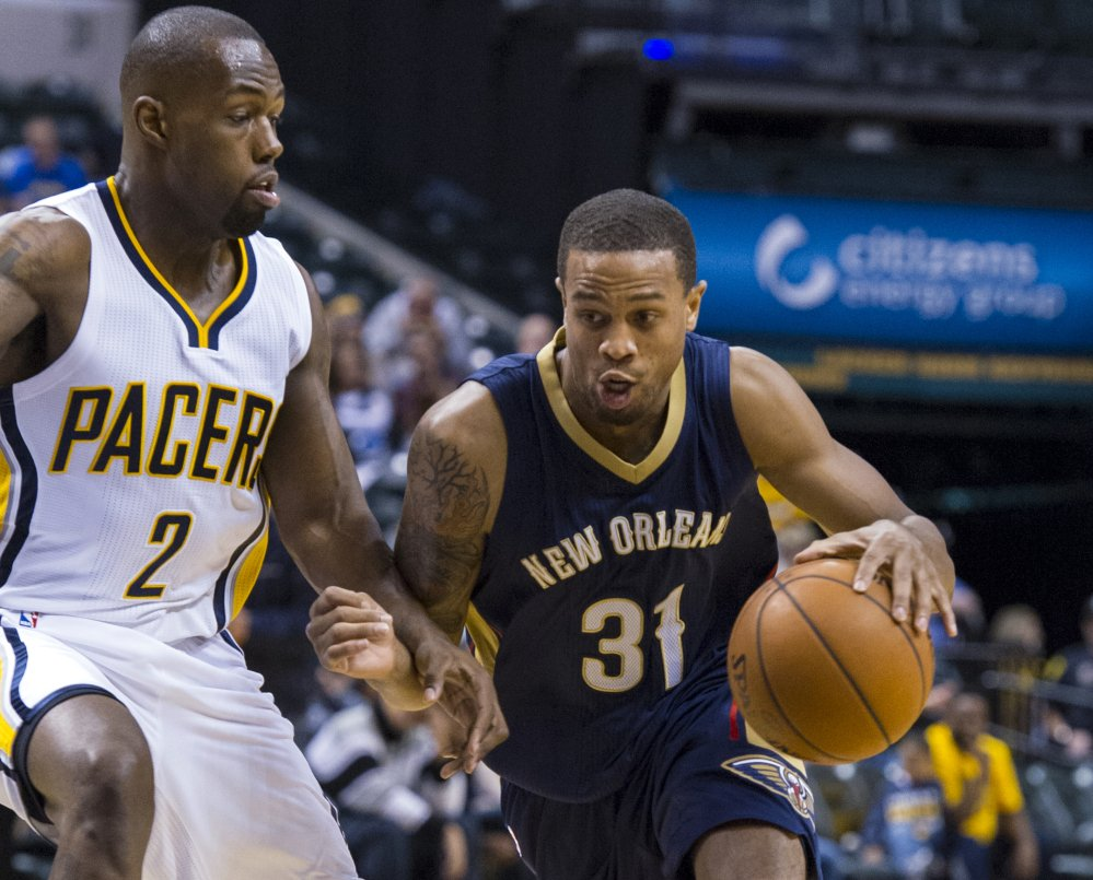 New Orleans Pelicans' Bryce Dejean-Jones was fatally shot after breaking down the door to a Dallas apartment. Sr. Cpl. DeMarquis Black said in a statement that officers were called early Saturday morning and found the 23-year-old player collapsed in an outdoor passageway. He was taken to a hospital where he died.