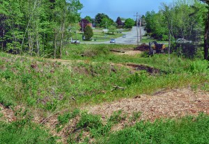 This Wednesday photo shows the site of the proposed new Augusta Fire Department station near the intersection of Anthony Avenue and Leighton Road.
