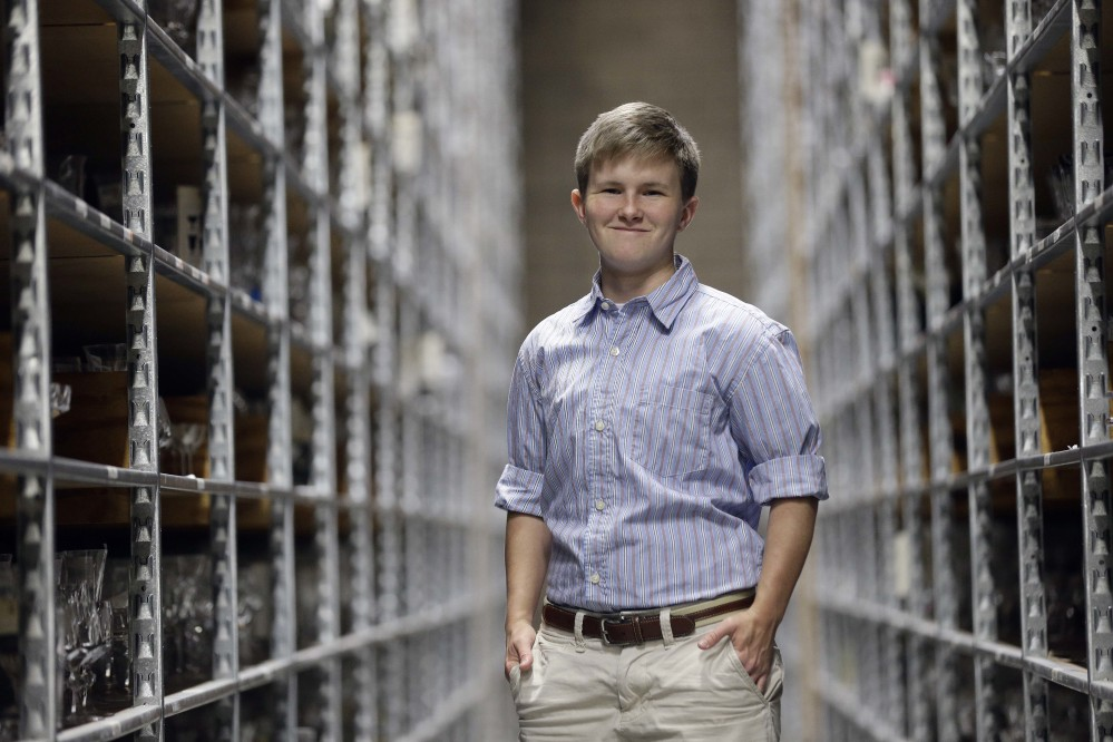 Payton McGarry, a transgender man, works in McLeansville, N.C. The Associated Press