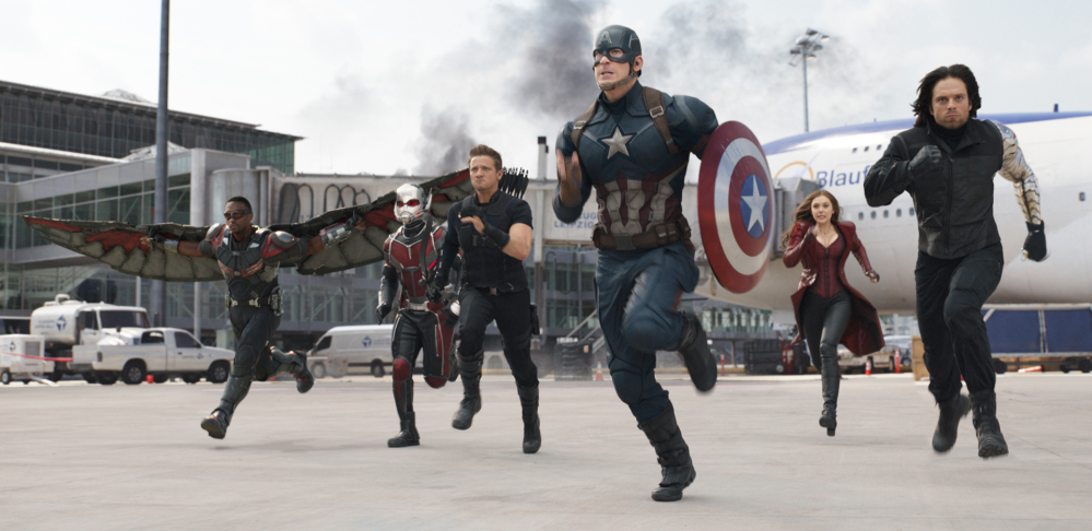 """Captain America: Civil War"""" has gotten strong reviews from critics and audiences en route to earning $181.8 million in its opening weekend."""