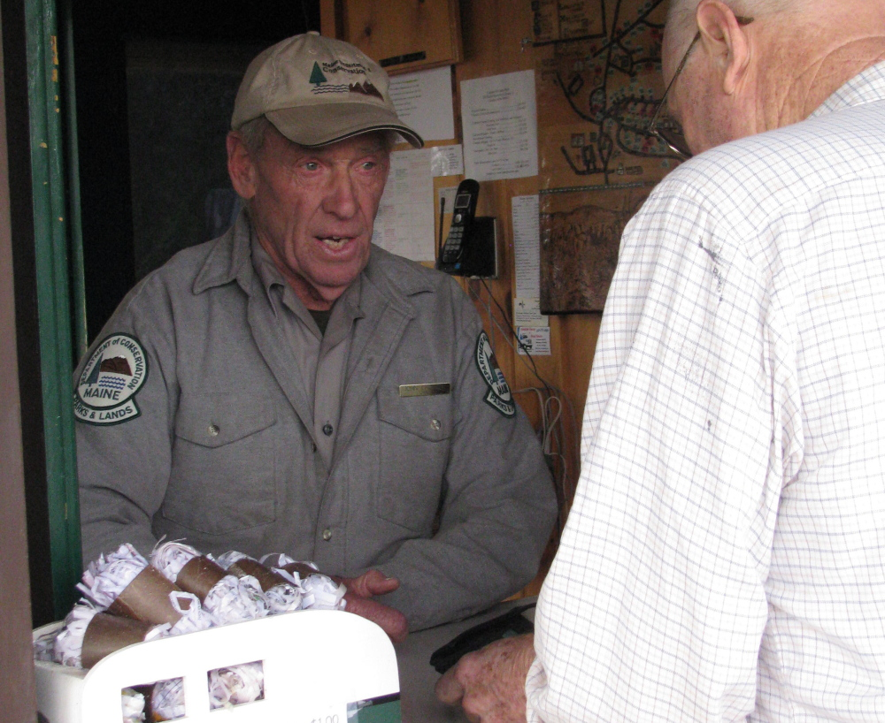 If you ever visited Camden Hills State Park, there was a good chance you saw John Christie at the entrance booth.