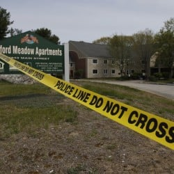 Oxford Meadow Apartments in Oxford, following Saturday's early morning fire.