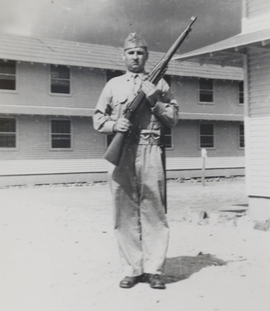 Pvt. Earl Joseph Keating died in 1942 on the Pacific island of New Guinea.