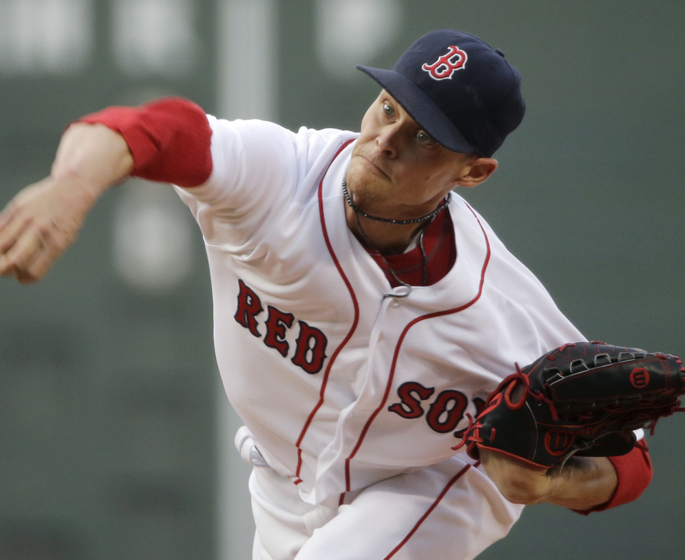 Pitcher Clay Buchholz, who can be either very good or very bad, has been a disappointment for a Red Sox team that needs improved pitching to finish as a playoff contender.