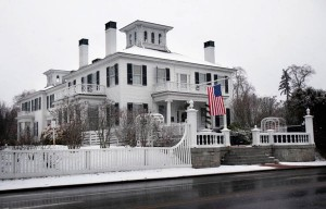 The Blaine House, Maine's governor's mansion, is seen Wednesday, Dec. 22, 2010, in Augusta, Maine. Gov.-elect Paul LePage, who will be sworn into office on Jan. 5, has started to move his personal items into the house. (AP Photo/Robert F. Bukaty)