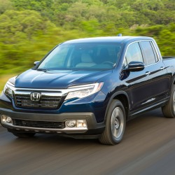 The 2017 Honda Ridgeline has all of the benefits of a midsize pickup with none of the compromises, making the ultimate tailgaiting truck. (Honda/TNS)