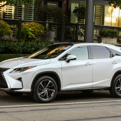 Lexus's utility vehicle line is a family of four models.