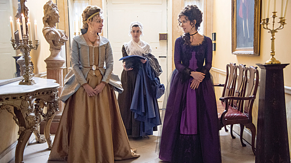 """Chloe Sevigny, left, and Kate Beckinsale, right, in """"Love & Friendship."""""""