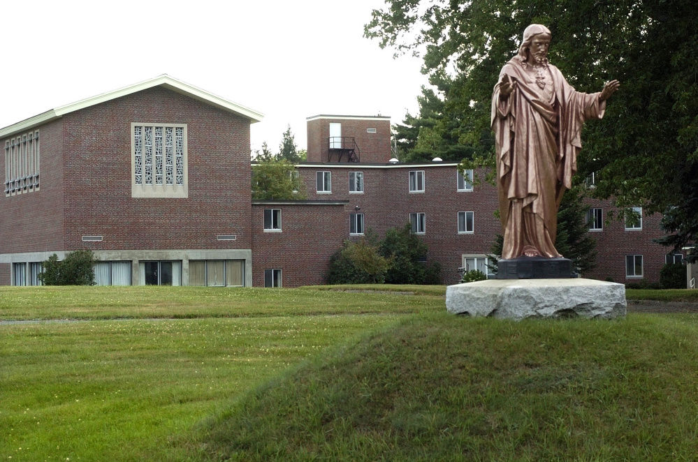 The former Ursuline convent on Western Avenue may become senior housing. The Planning Board will consider a zoning request Tuesday.