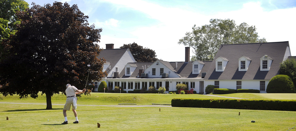 Augusta country club to celebrate 100th anniversary for O connor motors augusta maine
