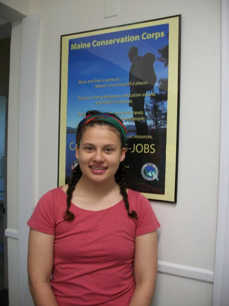 Rebecca Fernandez, of Monmouth, will serve as an AmeriCorps member with the Maine Conservation Corps.