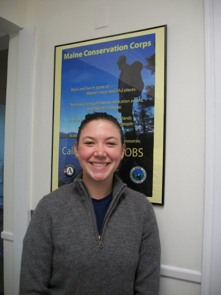 Autumn St. Pierre, of Farmingdale, will serve as an AmeriCorps member with the Maine Conservation Corps.