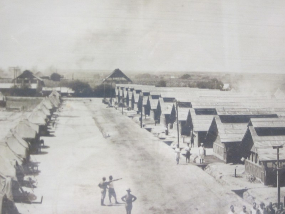Maine guardsmen's tents line a field in 1916 in Laredo, Texas, after the mobilization order by President Woodrow Wilson.