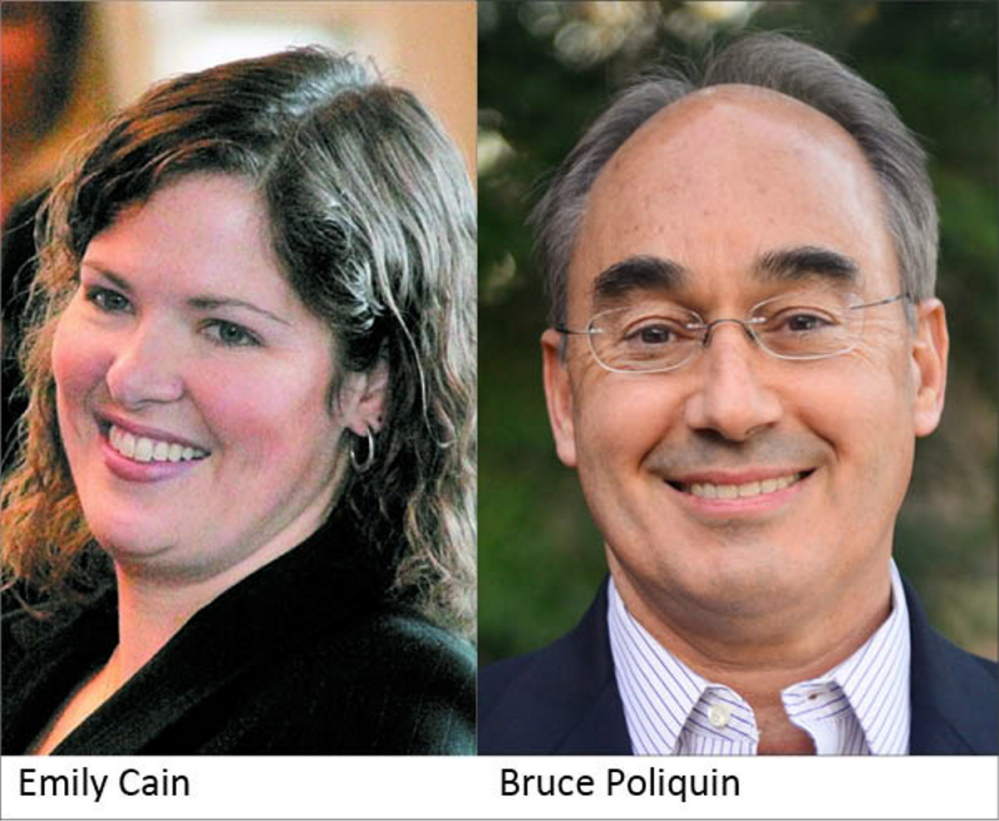 Emily Cain and Bruce Poliquin
