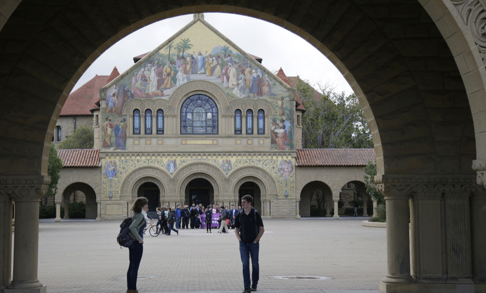 At Stanford University in California, students aren't just talking about commencement or bright futures ahead; conversations of late keep turning to sexual assault.