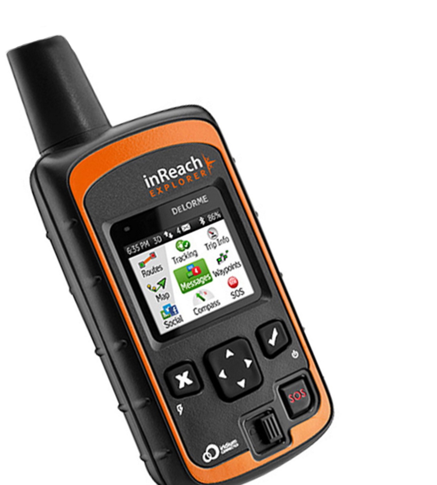 The InReach satellite communication device