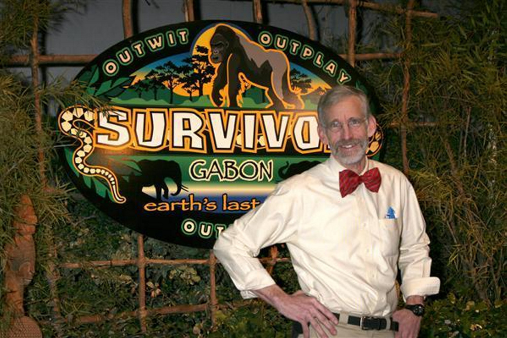 "Bob Crowley, ""Survivor — Gabon"" winner, will make special presentation Wednesday, July 13, at Spectrum Generations Cohen Community Center in Hallowell."