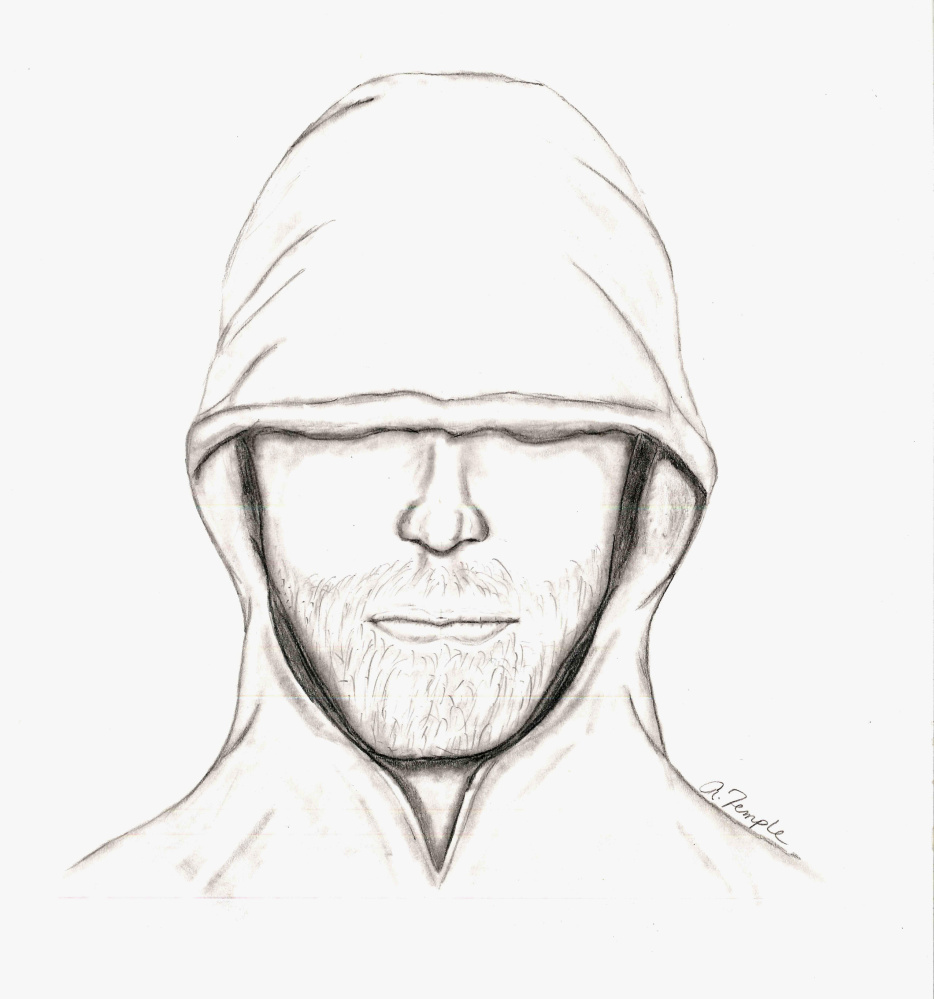 The Lincoln County Sheriff's Office released this sketch Thursday of a suspect in an assault that took place July 1 on Hinks Road in Jefferson.