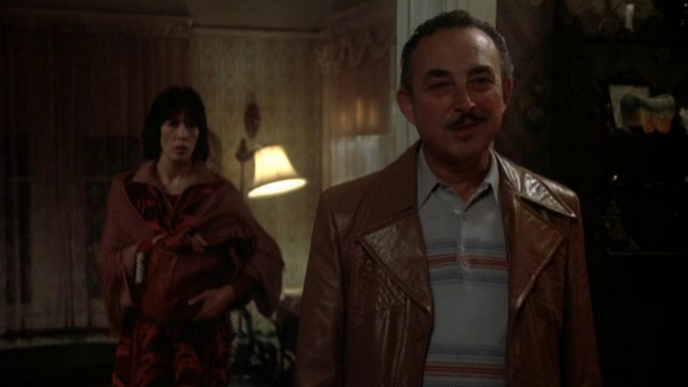 "Lily Tomlin and Bill Macy in the Robert Benton film ""The Late Show."""