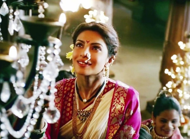 "Deepika Padukone plays the Muslim princess Mastani in the film ""Bajirao Mastani,"" playing tonight at the Waterville Opera House."