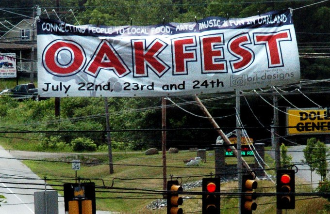 The Oakland Town Council will vote Wednesday on road closings and other logistics for OakFest, which is July 22-24.