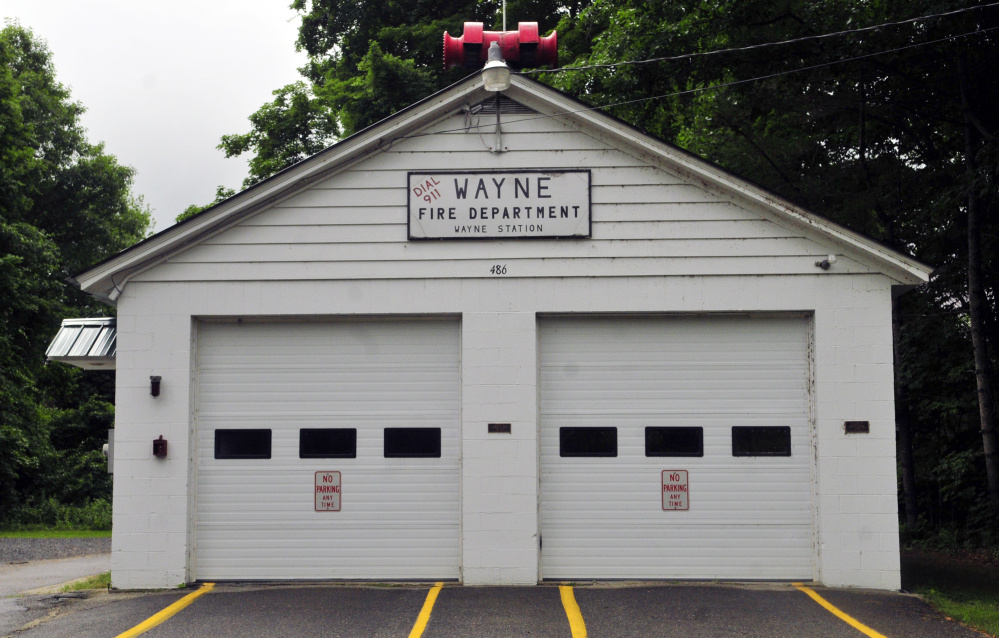 Building a new firehouse is a long-term goal of the Wayne comprehensive plan.