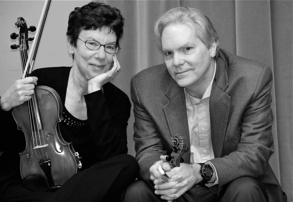 Tim, left, and Sarah Macek and Friends will perform a chamber music concert at 7 p.m. July 17 at the Church of the Good Shepherd in Rangeley.