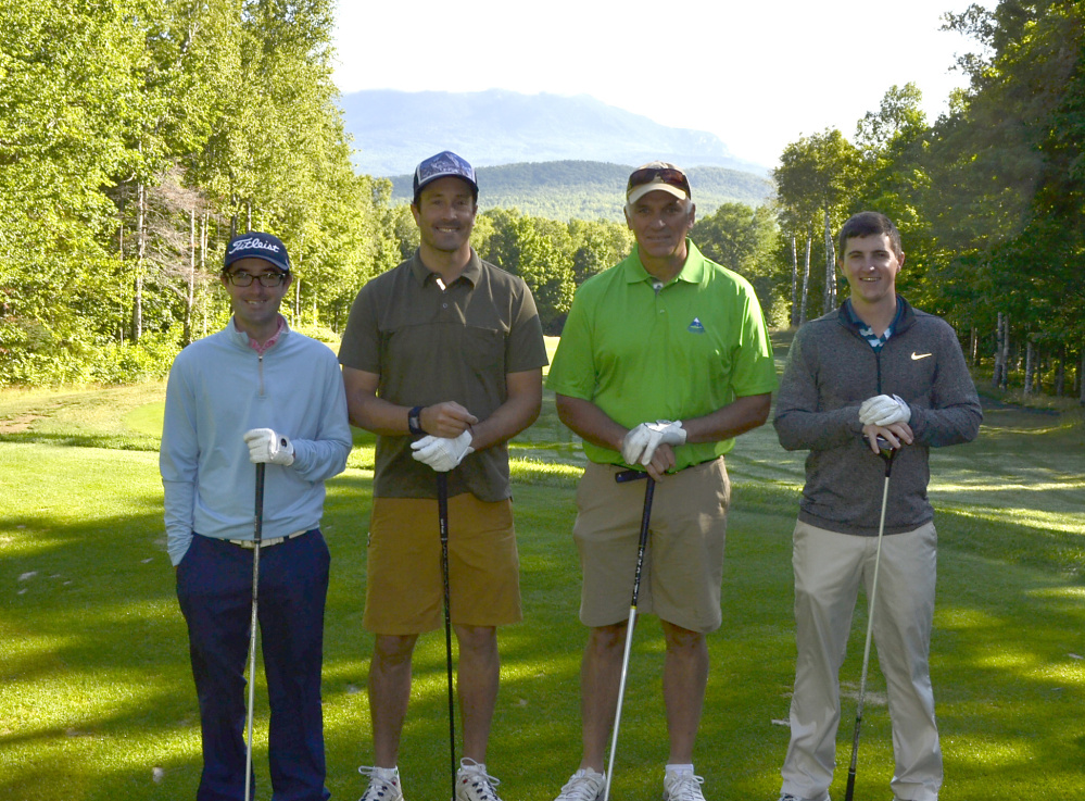 Franklin Community Health Network's annual Healthcare Golf Classic held July 10-11 at the Sugarloaf Golf Club. The Sugarloaf team of Zach Zondlo, Seth Wescott, Karl Strand, and Corey May took first place gross.