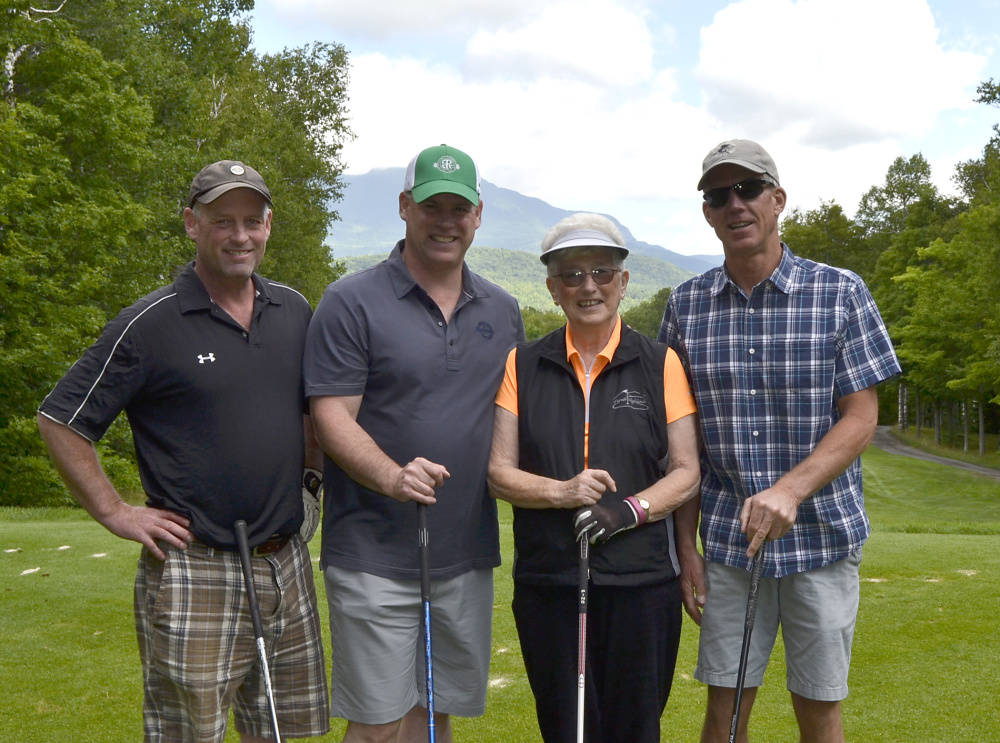 Franklin Community Health Network's annual Healthcare Golf Classic held July 10-11 at the Sugarloaf Golf Club. The Kyes Insurance team of JB Christie, Flint Christie, Jill Perry, and Rock Bjorn took first place net.