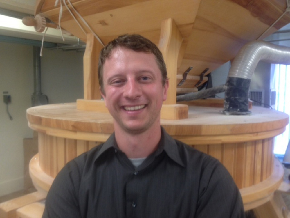 Tristan Noyes, of South Portland, is the new executive director of the Maine Grain Alliance, which is the host of the 10th annual Kneading Conference and Artisan Bread Fair that begins Thursday in Skowhegan.
