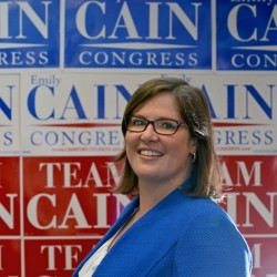 "Emily Cain, Democratic candidate for Maine's 2nd Congressional District and an early Hillary Clinton supporter, said Tuesday that ""honest debate is healthy"" following the first day of the Democratic National Convention in Philadelphia, at which tension was on full display among Bernie Sanders supporters."