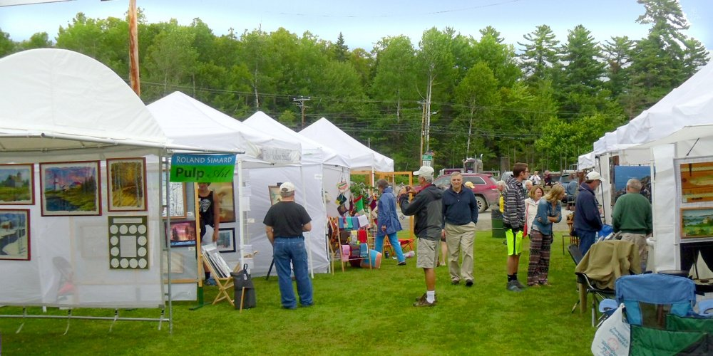 """""""Art in August,"""" an open air art exhibit and sale, will take place from 10 a.m. to 4 p.m. Thursday, Aug. 6, in Oquossoc Park in Rangeley."""