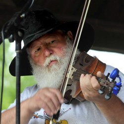 Fiddler Danny Thompson competes in the 42nd East Benton Fiddlers Convention and Contest in 2014. This years festival is Sunday.