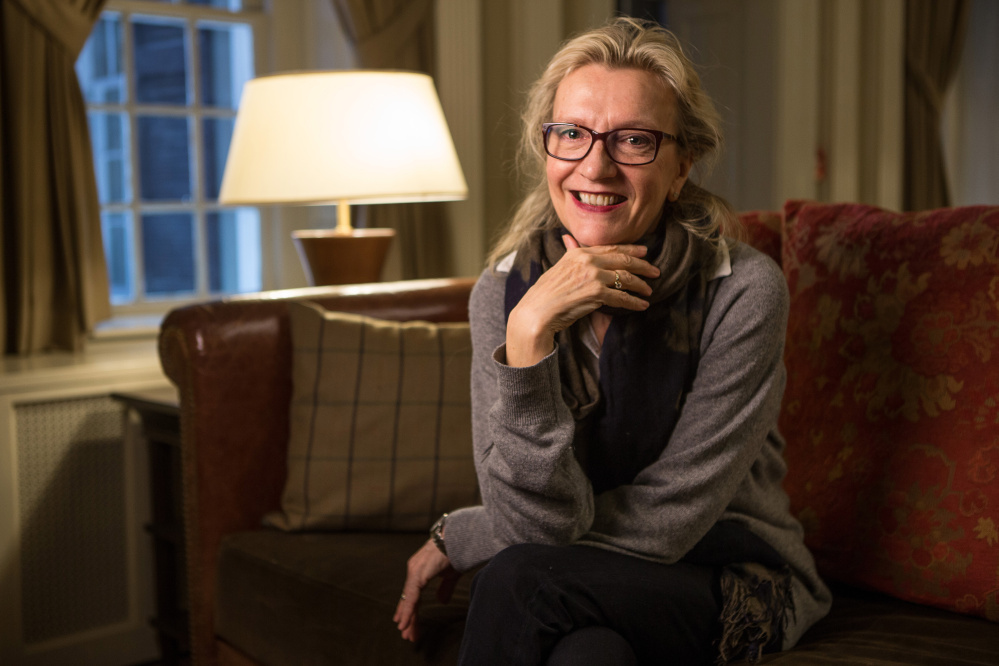 """Elizabeth Strout has been nominated for the Booker Prize for fiction for her latest work, """"My Name is Lucy Barton."""""""