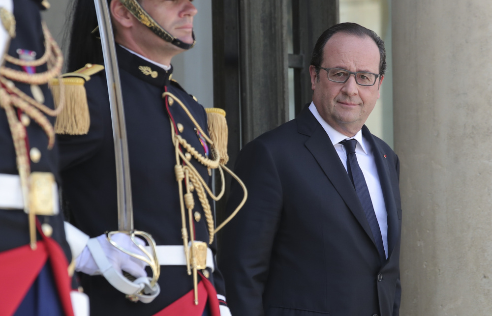 With his thinning scalp, French President Francois Hollande doesn't look like a man who would need to spend $11,000 a month on cranial grooming, but he's been doing just that.