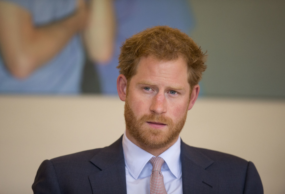 Britain's Prince Harry now regrets not being open about his anguish following his mother's death in 1997.