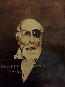 Jewett Williams is shown around the time he was admitted because of senility to the Oregon State Hospital for the Insane.