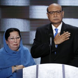 The Muslim parents of a U.S. Army soldier killed in Iraq in 2004, Ghazala and Khizr Khan, are the latest targets of Donald Trump after their appearance at the Democratic National Convention last week.