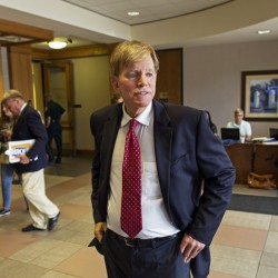 Former Ku Klux Klan leader David Duke, who mounted a credible gubernatorial campaign in Louisiana in 1991, now hopes to ride a wave of anti-immigrant, anti-free trade sentiment to the U.S. Senate.