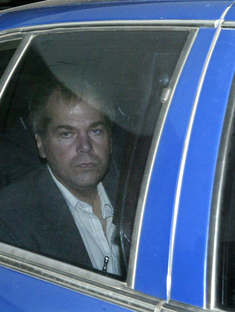 John Hinckley Jr., shown arriving at a 2003 court session, could be freed from a psychiatric hospital in August.