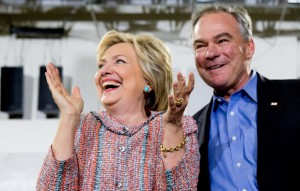 Hillary Clinton on Friday announced that she has chosen Virginia Sen. Tim Kaine as her vice presidential running mate. Fluent in Spanish and active in the Senate on foreign relations and military affairs, he built a reputation for working across the aisle as Virginia's governor and as mayor of Richmond.