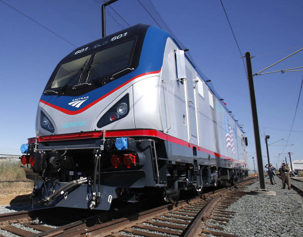 Introducing locomotives called American Cities Sprinters three years ago cut delays because dashboard electronic screens quickly tell the engineer what the problem is.