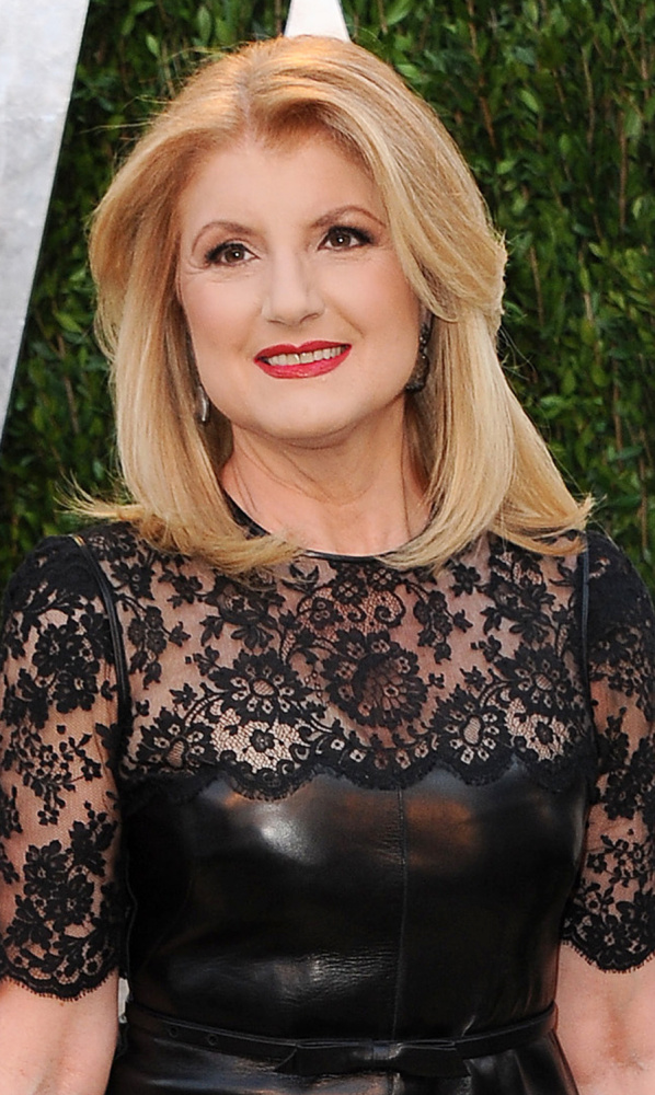 Arianna Huffington's news giant the Huffington Post became one of America's most-visited websites.